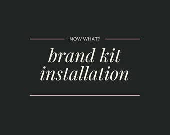 Branding Kit Installation and Setup