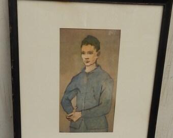 Vintage Pablo Picasso Framed Print!