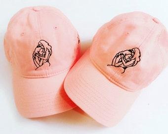 "Creature of Habit- ""w/pleasure"" Baseball cap (one size fits all)"