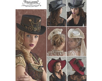 Simplicity Sewing Pattern 8361 Hats in Three Sizes