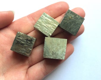 Pyrite crystals cubes 1 piece large