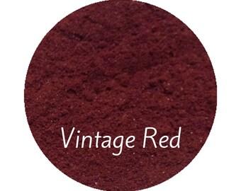 Mineral Makeup Red  Blush, Natural Makeup, Deep Burgundy Blush, Makeup, Natural Organic Cosmetics, Vegan Makeup