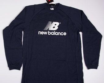 Vintage New Balance Logo 90s Long Sleeved Tshirt