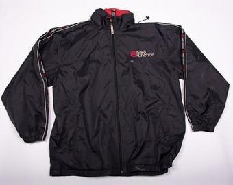 Vintage Ecko Spray Zip Up 90s Windbreaker Jacket