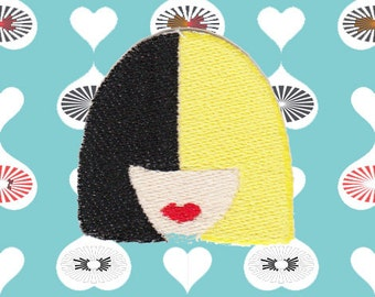 Sia Face Patch