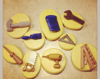 Handy Man Tool Set Mold Silicone