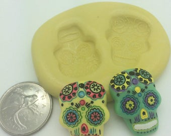 Day of the Dead Skull Mold Set