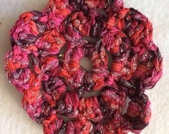 Crochet rosette