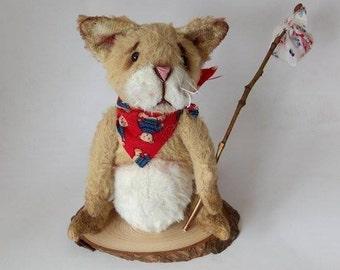 Cat,Cat Teddy ,Artist Teddy Bear Cat,Staffed cat,Cat Teddy Bear,Soft Toy Cat,Cat Plush Toy,Kitten,Cat Stuffed Animal,