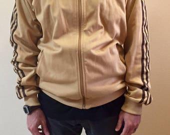 Vintage Adidas track jacket Mens // sizeXL