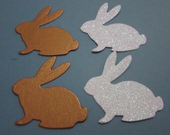 Set of 4 Bunnies, Rabbits