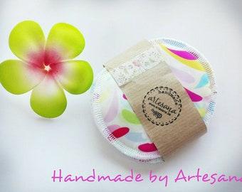 Rusable nursing pads, Nursing pads for sensitive skin, Reusable Breast Pads, Bamboo Pads