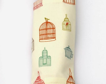Organic Bird Cage Suck Pads (Drool Pads) for SSC Baby Carriers, Babywearing Accessories, Bird Baby Gifts, Fits Ergo, Tula, Lillebaby, Beco