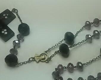 Rosary (Glass & Horn)