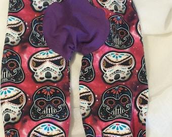 Size 1 dark side sugar skull maxaloons