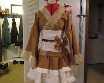 Eevee Kimono Cosplay