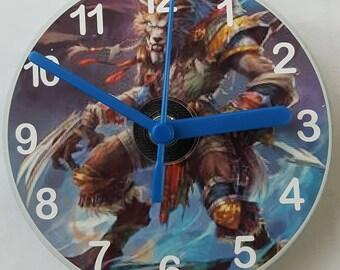 Fantasy Monster CD Wall Clock