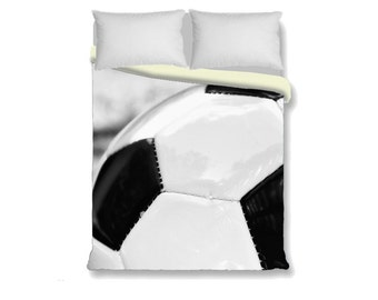 Soccer Duvet Cover-Black & White Duvet Cover-Sports Bedding-Girls/Boys Bedding-Twin Duvet-Full/Double Duvet-Queen Duvet-King Duvet Cover