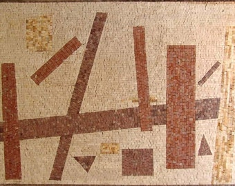 """Kazimir Malevich """"Geometry"""" - Abstract Mosaic"""