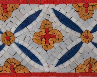Geometric Mosaic Border - Terra Flora