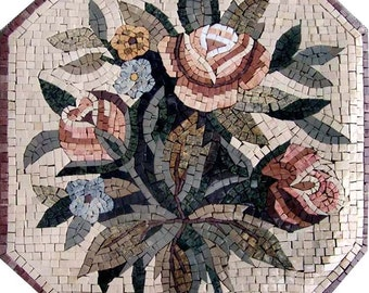 The Retro Decorative Mosaic