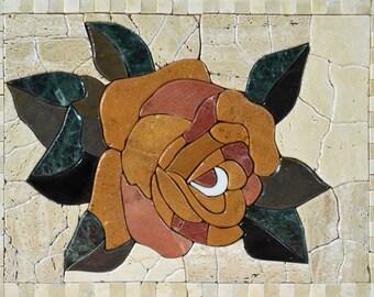 Flower Stone Mosaic