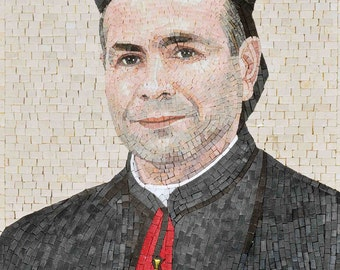 Custom Mosaic - Bishop Joseph Mouawad