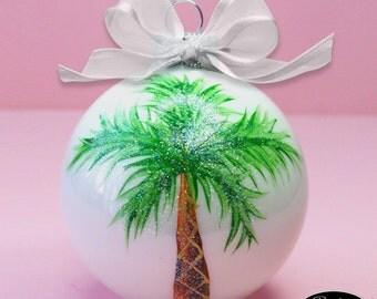 Christmas ornament palm tree | Etsy