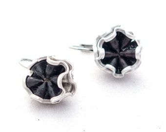 Upcycling earring-Brisur Roma