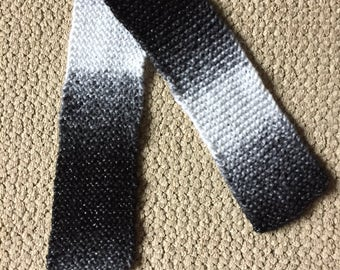 Black and White Sparkle Scarf