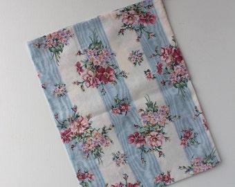 Fabric Drawstring Bag, Patterned Drawstring Bag,  Cotton Drawstring Pouch