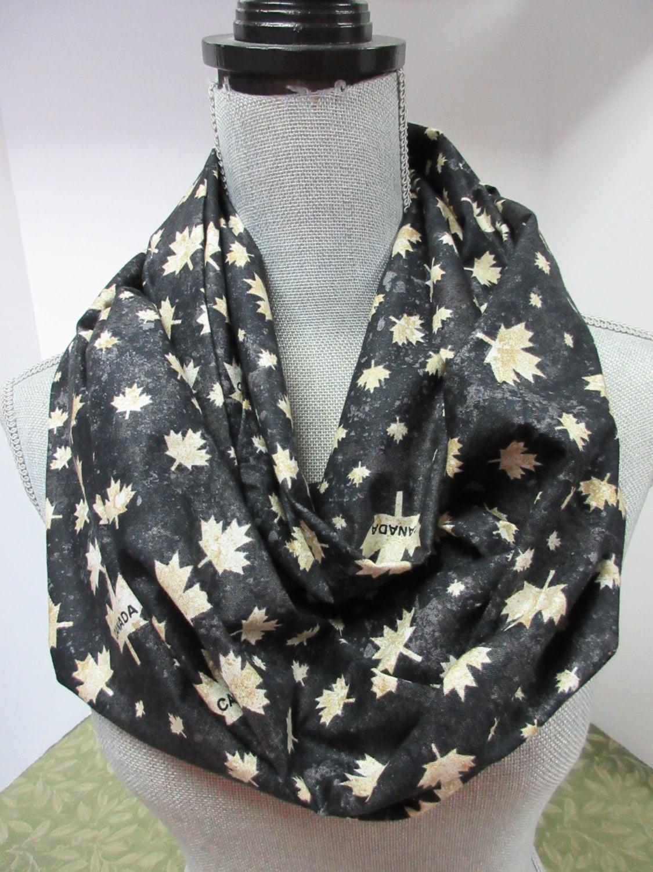 infinity scarf circle scarf fabric scarf canada scarf