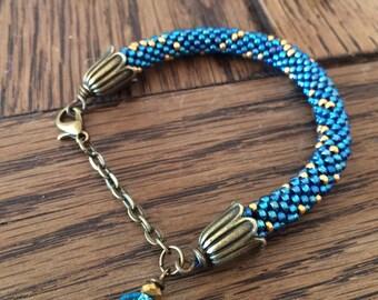 Beads Bracelet - starry sky