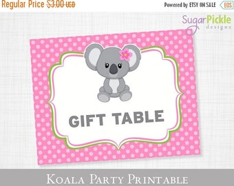 Koala Table Decor Party