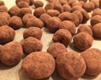 Organic Non GMO Macadamia Dragee's - Half Pound (8oz)