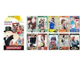 Monopoly Fujifilm Instax Mini Film Instant Photos