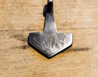 Damascus Hammer - Thor's Hammer - Mjølner