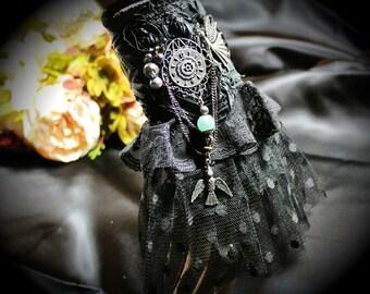 Steampunk Victorian Edwardian Cuff/Bracelet Goth Boho HAND MADE