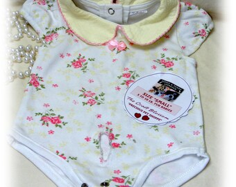 """Girl Fur Baby SMALL """"ONESIE"""" . . From Baby Clothes . . . (Custom Clothes Orders Welcome)"""