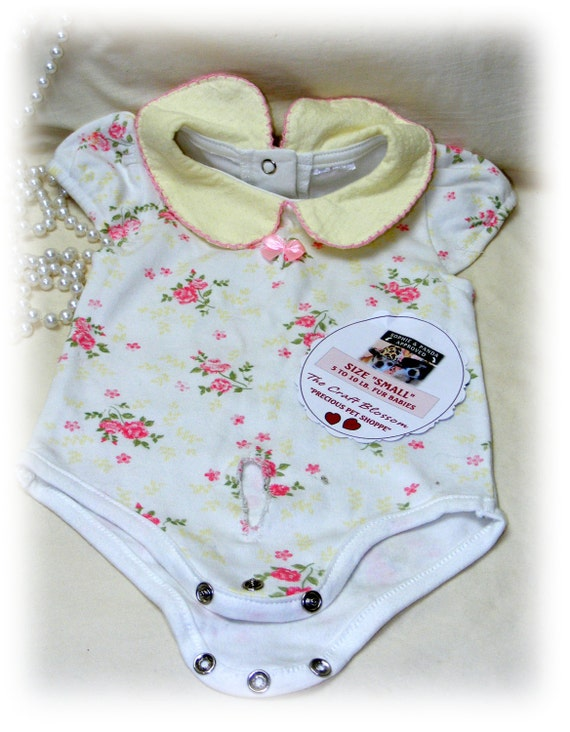 "Girl Fur Baby SMALL ""ONESIE"" . . From Baby Clothes . . . (Custom Clothes Orders Welcome)"
