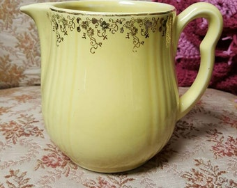 Yellow Hall's Superior Quality Kitchenware Pitcher
