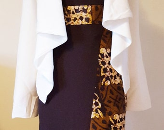 Chocolate sheath dress