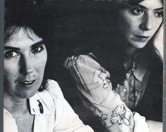 Kate and Anna McGarrigle - Self-titled (1975) Vinyl;  Kate & Anna