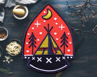 """Arrowhead Camping Patch 