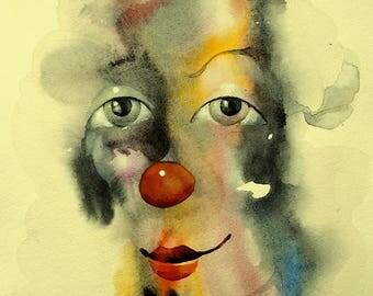 Art Print of original watercolor painting. A4 (210 x 297 mm)