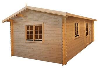Eureka- Guest house kit, storage shed kit, wooden cabin kit, tiny house kit.