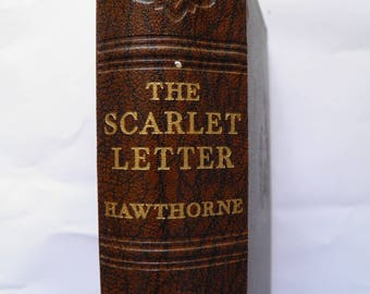 The Scarlet Letter by Nathaniel Hawthorne  Greycaine Odhams Hardback c.1930