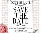 25 x A6 Magnet Save the Dates REPRINT