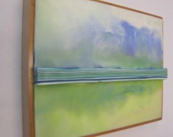 Encaustic Painting Stratum 77