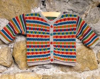 Checkered vest Knitting kit
